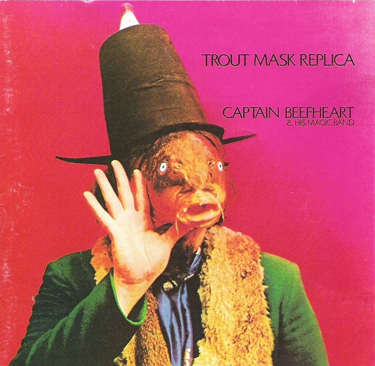 Captain Beefheart - Trout Mask Replica: Music, Album Covers, Captainbeefheart, Albums, Masks, Captain Beefheart, Magic Bands