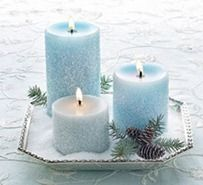 Cover candles in Epsom Salts.  Also, various other uses for Epsom Salts.