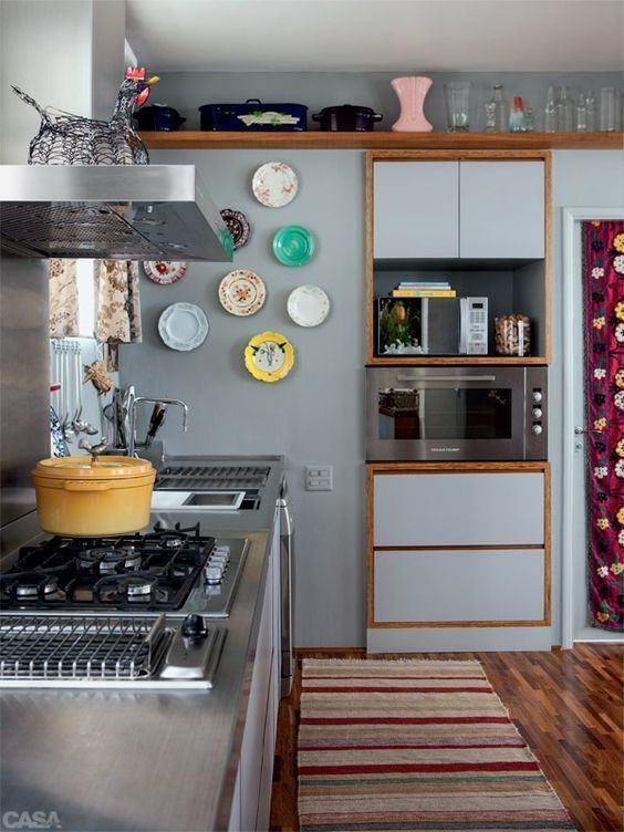 Kitchen Grey: 60+ Modelle, Designs und Fotos Schön!