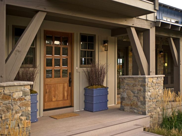 33 best rustic ranch style houses images on pinterest for Ranch house front door