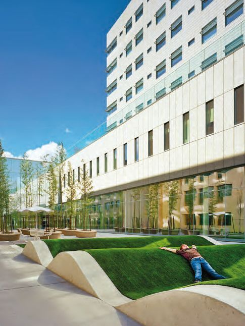 Randall Children's Hospital by LZF as Manufacturers: