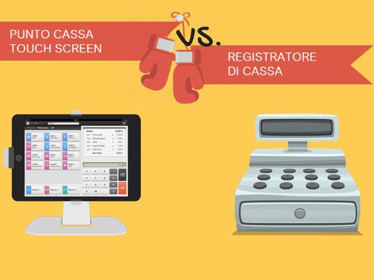 registratore di cassa touch screen a roma