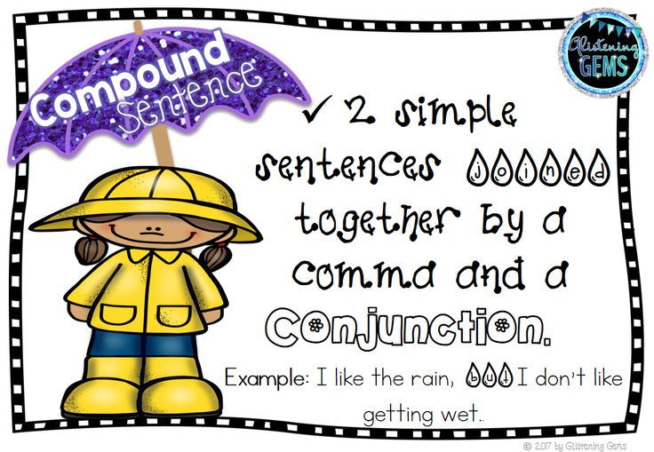 Simple and Compound Sentences Sorting Center - Spring Theme. Includes anchor charts, sorting cards, simple and compound sentence headers, student response sheet and answer sheet.