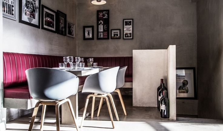Klima klima wine - bar in Melissia - Athens Volcano Collection Application  #Kourasanit #Volcano #Collection #WhenNatureDecorates #interiordesign #architecture #renovation #chic #bar #fillercoating #design #art #architect #architects #interiors #deco #decoration