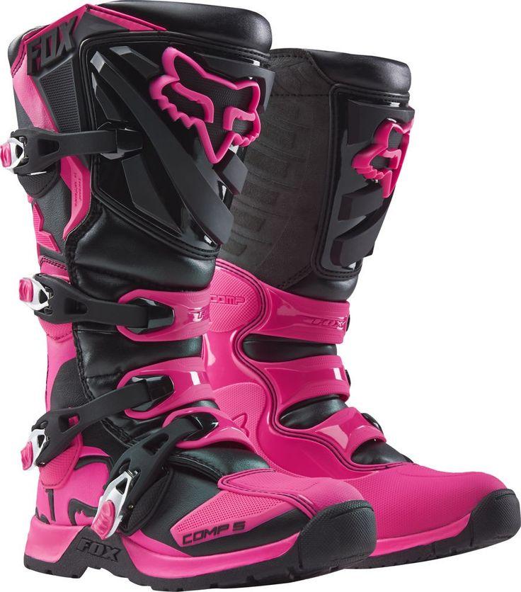 Fox Racing Comp 5 Girls Off Road Dirt Bike Motocross Boots