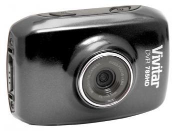 Câmera Filmadora Esportiva HD Vivitar DVR785HD 5MP - Conexão Mini USB com Caixa Estanque