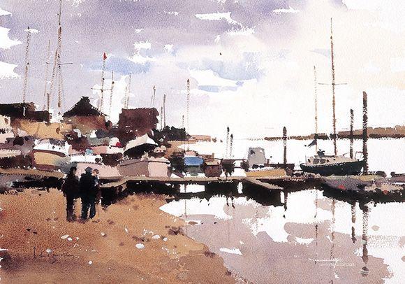 Art Of Watercolor: John Yardley. Interview.