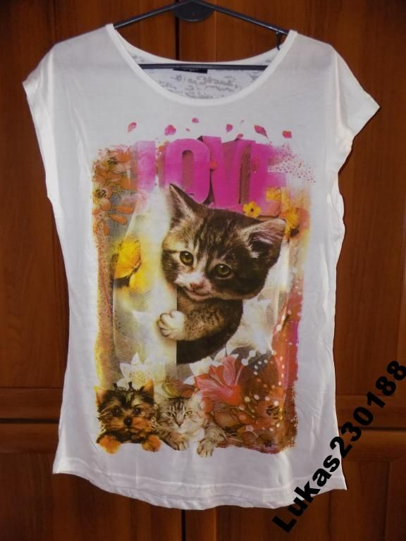 Super bluzki z kotkiem PROMOCJA Super cena!!!