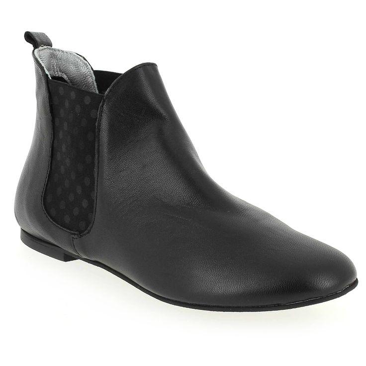 Chaussure Ippon Vintage SUN DOTS Noir 4572601 pour Femme | JEF Chaussures