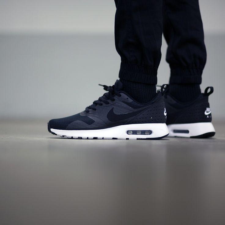 Nike Air Max Tavas: Black   Accessories   Pinterest   Air max, Black and  Cheap nike running shoes