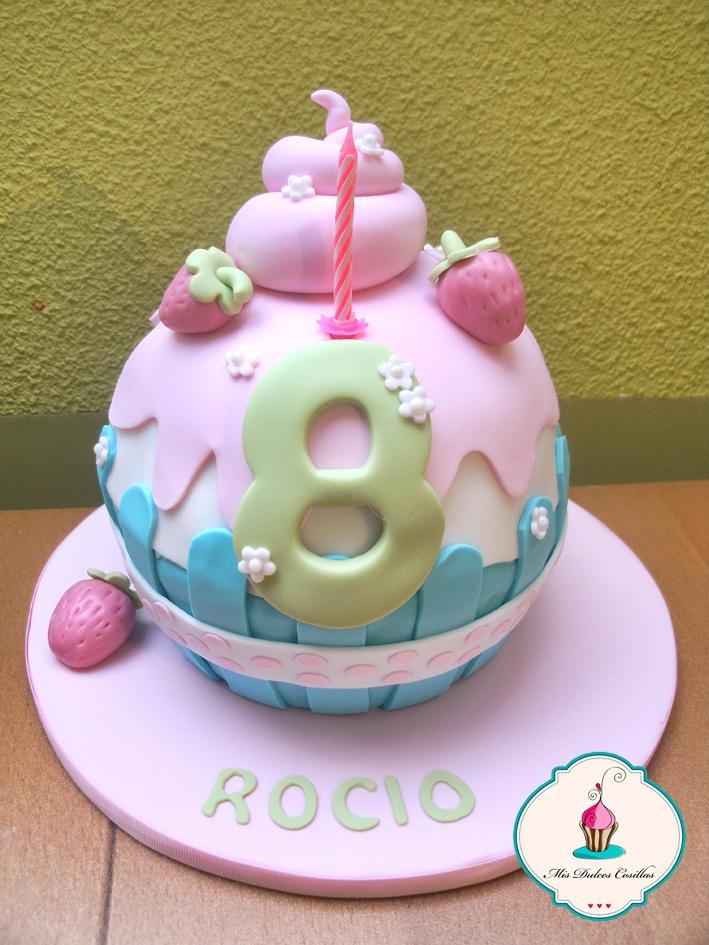 tarta cupcake gigante