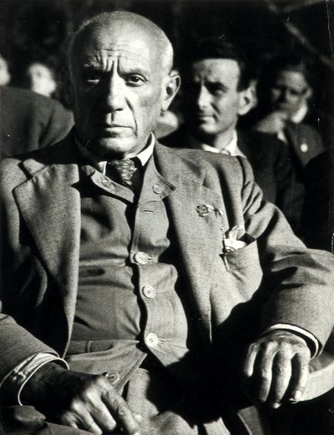 Pablo Picasso - Iconic twentieth century artist, known for his commitment to peace.