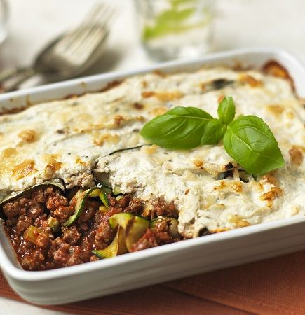 Quorn Meat Free Mince and Courgette Lasagne. Try our delicious recipe for a…