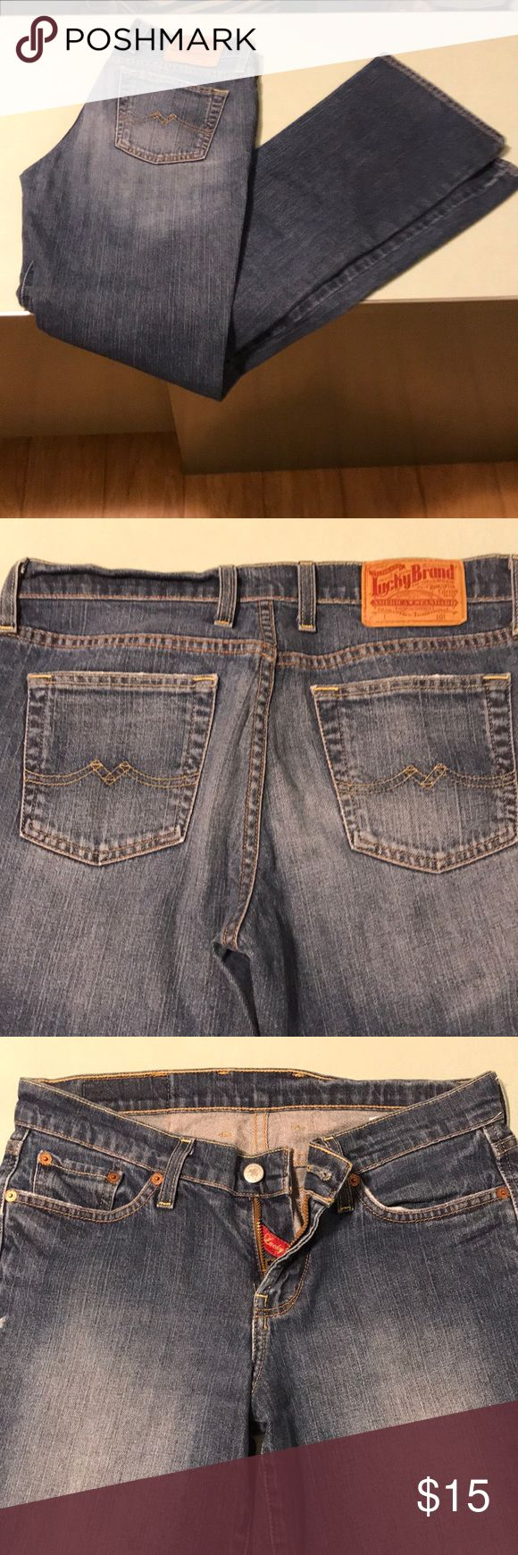 Lucky Brand dungarees jeans sweet and low Great pair of Lucky Brand dungarees in outstanding condition. They are size 28 Long and sweet n low long length. Let me know if you have questions. Lucky Brand Jeans Straight Leg