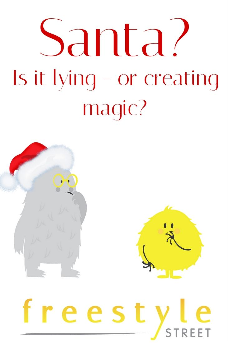 should you tell the truth?  #santa #christmas #parenting #myths #legends #stories #honesty