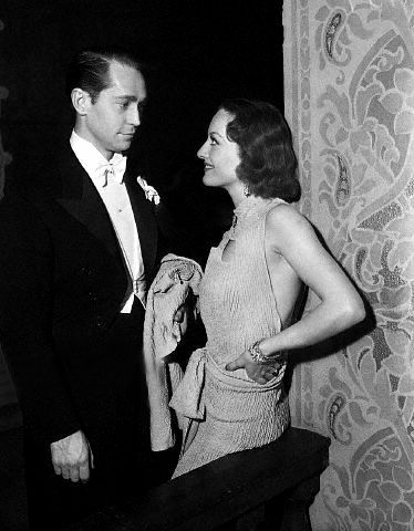 Franchot Tone and Joan Crawford, husband #2 for Joan (They Remained Close Friends Until His Death in 1968)