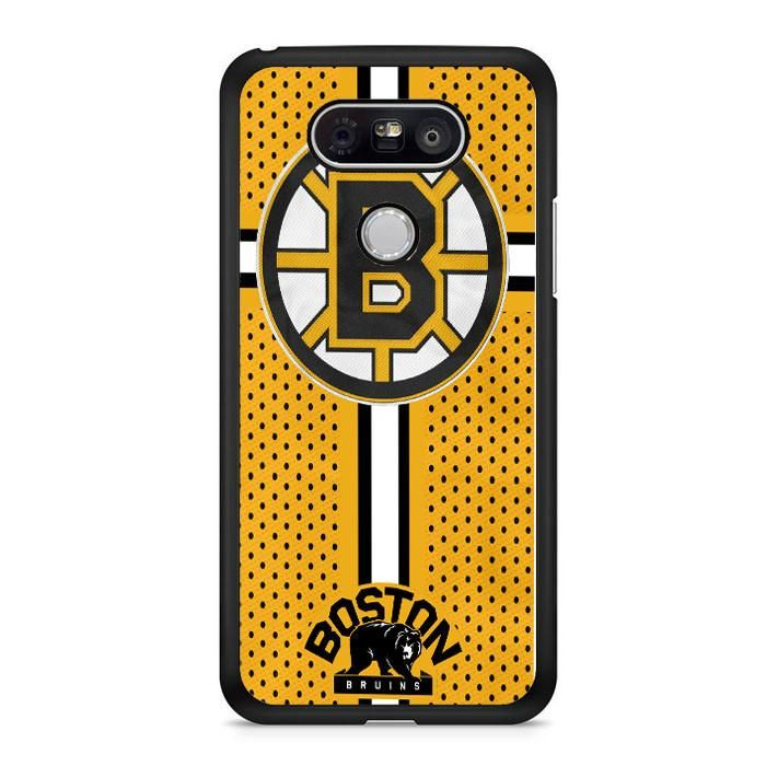 Custom Boston Bruins Hockey LG G6 Case Dewantary