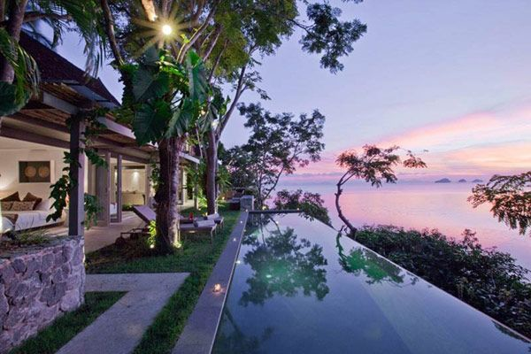 Thailand holiday villa 2 Immersed in the Tropical Refuge of Koh Samui, Thailand: Headland Holiday Villa 3