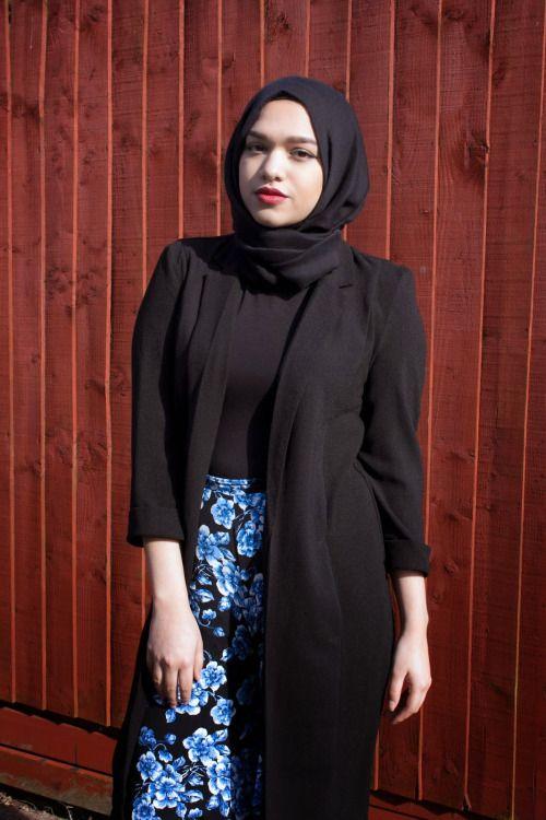 all black Saima Chowdhury