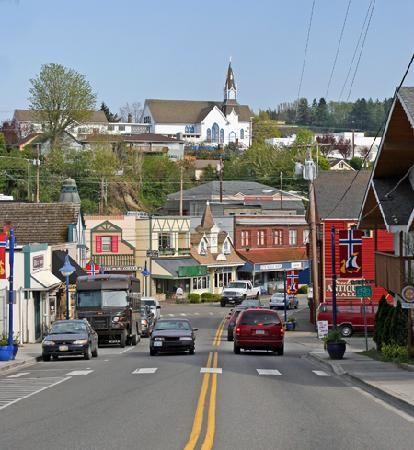 Bainbridge Island, WA: Downtown Poulsbo, Washington