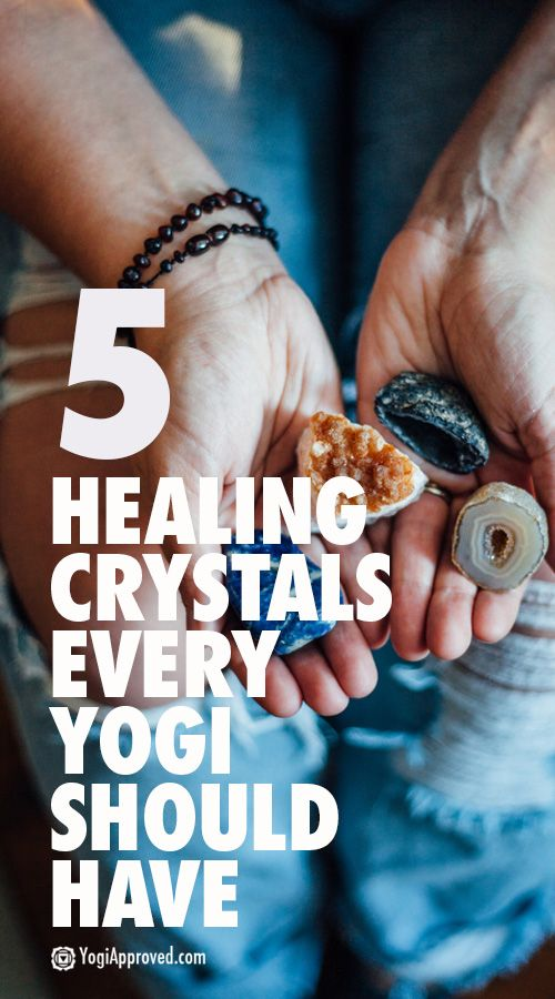 5 Healing Crystals Every Yogi Should Have