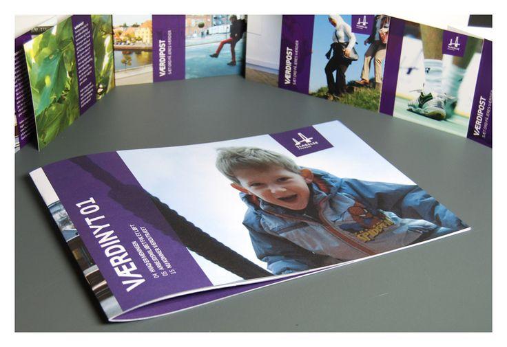 Im Magazin Værdinyt stehen die Mitarbeiter im Mittelpunkt. Mitarbeiter, die von ihrem Arbeitstag und den Erwartungen an den WERTEprozess berichten. Mitarbeiter, die ihre Erfahrungen teilen, indem sie Werte einbringen.