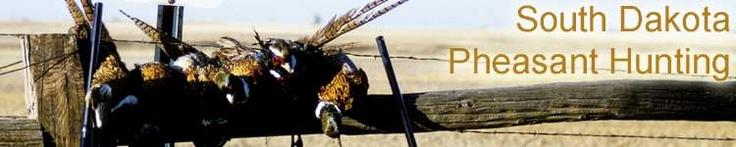South Dakota Pheasant Hunting - recipes