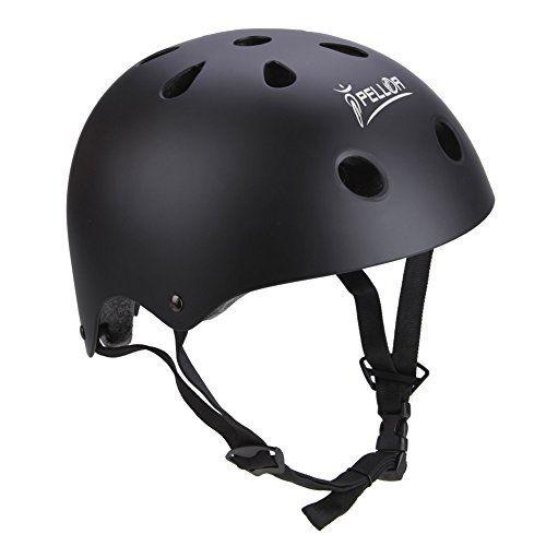 Pellor Professional Rollschuh Skating Helm Sicherheit Schutz für Multi-Sport Skateboarding Roller fahren Extreme MTB Hip-Hop Schutzhelm Kopfstück für Erwachsene und Kinder, http://www.amazon.de/dp/B01MCVOLVH/ref=cm_sw_r_pi_awdl_xs_6IKpybRSRSYA7