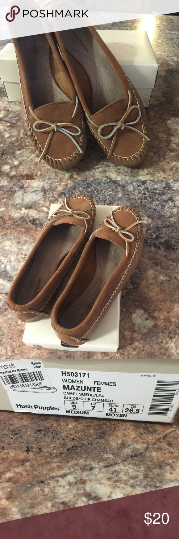 Hush puppies Never worn, hush puppies, size 9. So cute and cozy.nwot Hush Puppies Shoes Slippers