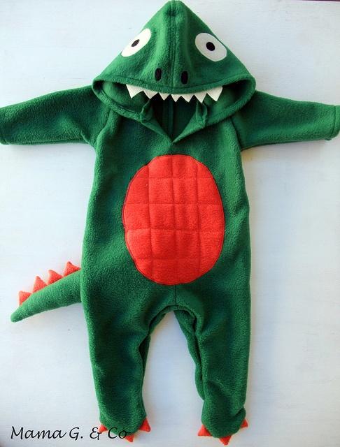Dinosaur Costume (1) by MamaGwenn1, via Flickr