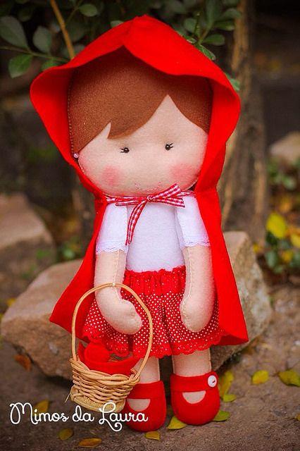 Turma da Chapeuzinho Vermelho by Mimos da Laura, via Flickr