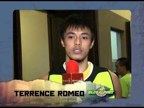 PBA in Dubai 2015 - Terrence Romeo (GlobalPort Batang Pier) invite - YouTube