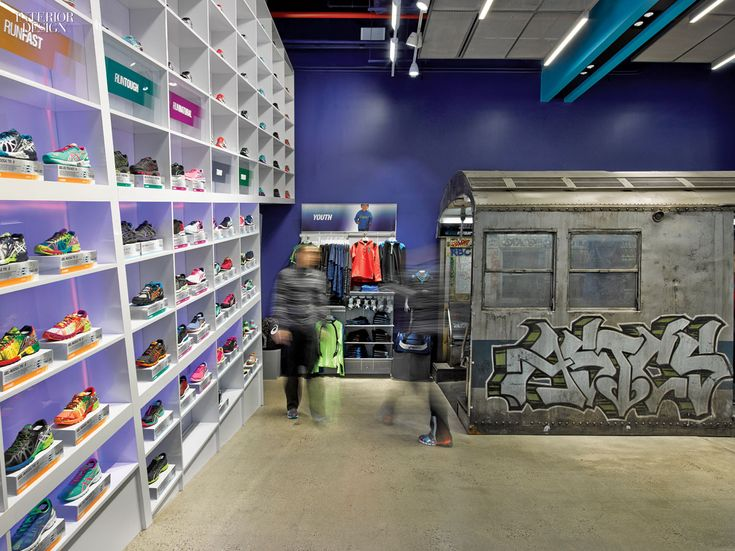 Train: The Asics New York Flagship by Mapos