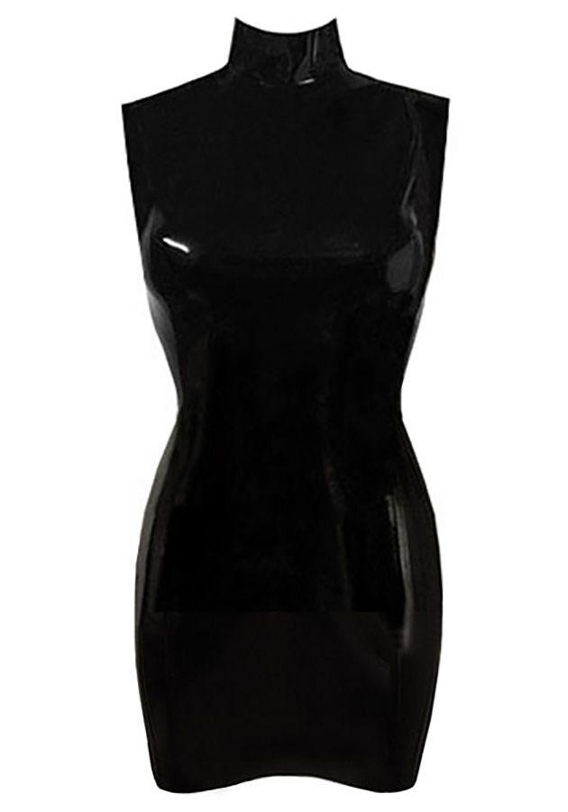 Bespoke Shop   Atsuko Kudo Latex Joy Mini Dress $200