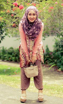 Model Busana Muslim Dian Pelangi Casual Ke Kampus