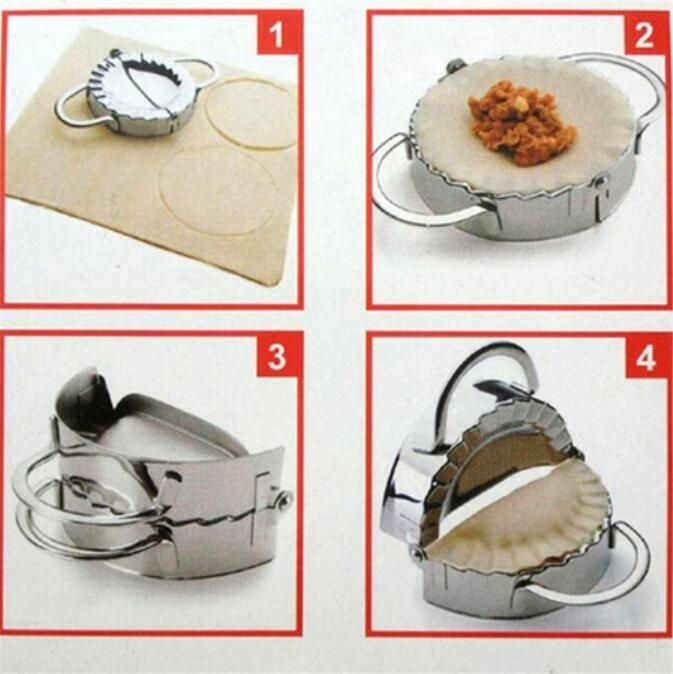 New Eco Friendly Pastry Tools Stainless Steel Dumpling Maker Wraper Dough Cutter Pie Ravioli Dumpling Mould Kitchen Accessories-in Baking & Pastry Tools from Home & Garden on Aliexpress.com | Alibaba Group