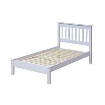 "Minimalist Capri 3 0"" Slatted Lowend Bedstead Painted White Inspirational - Model Of bedstead Modern"