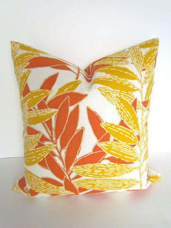 Best Sale Outdoor Throw Pillows 16X16 Orange Throw By 400 x 300
