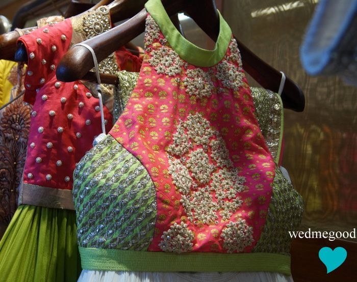 Inside the Ensemble Store in Delhi: Summer 2014 Bridal Buys ! color combo