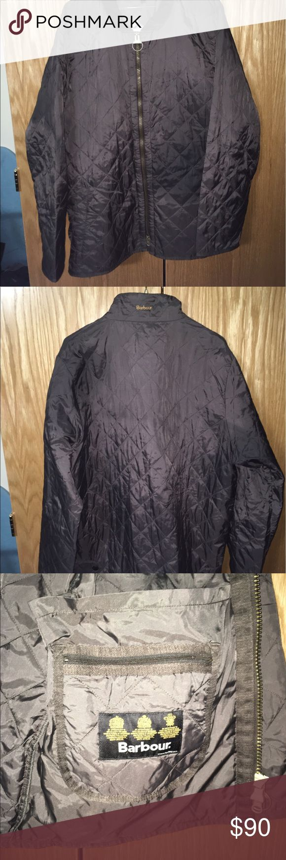 Barbour Liddesale Sport Men's Quilted Jacket SizeL Color is Brown, Size Large, Barbour Quilted Jacket -- great for a night out or Spring/Fall Barbour Jackets & Coats Lightweight & Shirt Jackets