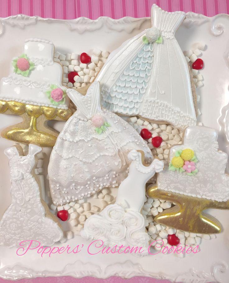 Wedding Shower Cookies Decorated Cookies Wedding Bride