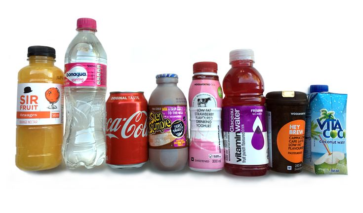 How much sugar is in your favourite drinks? #nutrition