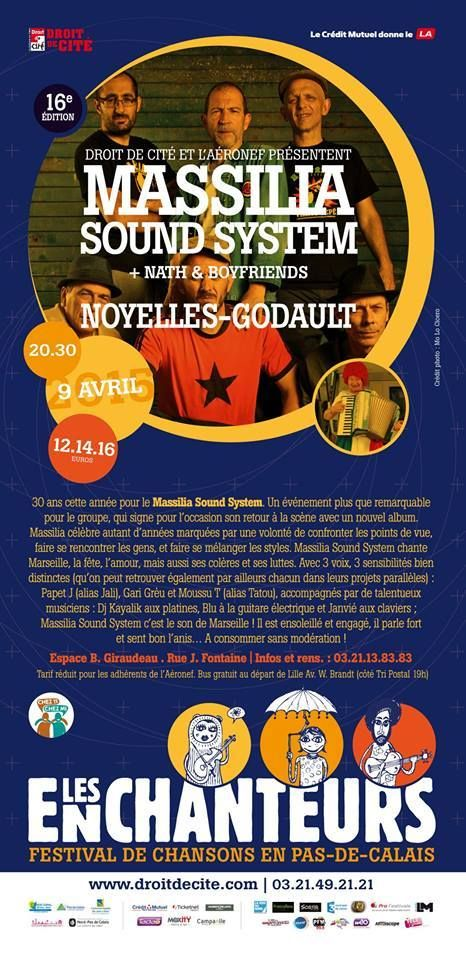 "North Unity: FESTIVAL LES ENCHANTEURS. ""MASSILIA SOUND SYSTEM"" ..."
