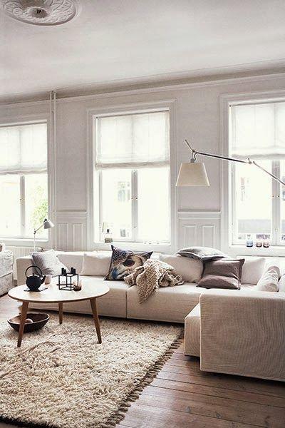 Keltainen talo rannalla: Tanskalaista tyyliä