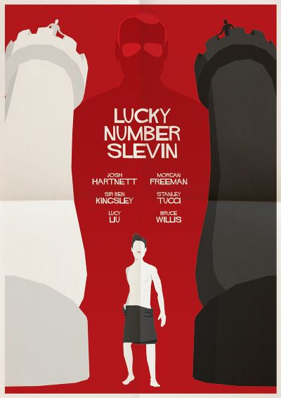 Lucky Number Slevin #minimal #movie #poster