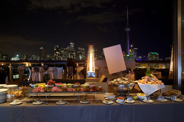 Thompson Hotel - Cocktails and Apps!! http://www.fusion-events.ca/