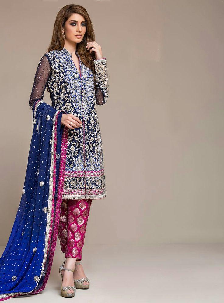 Beautiful pakistani desighn by zainab chottani