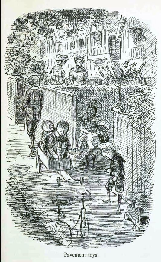 The Suburban Child Edward Ardizzone