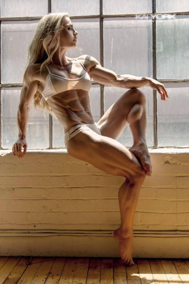 Female muscle — loveoffemalemuscle: Eleonora Dobrinina