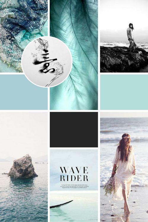 Branding inspiration moodboard for Olivia Bossert Photography brand and logo design!